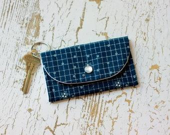 Metro Card Holder, ID Holder Keychain Wallet, Card Case, Travel Wallet, Card Holder Wallet Keychain, ID Holder Wallet, Minimalist Wallet