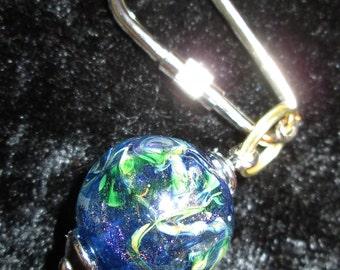 Lampwork Glass Key Chain