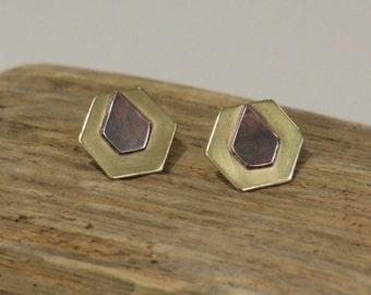 Art Deco Geometric Earrings