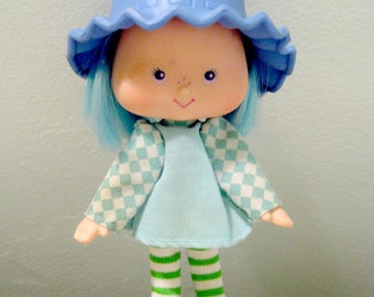 Vintage Strawberry Shortcake Blueberry Muffin Doll