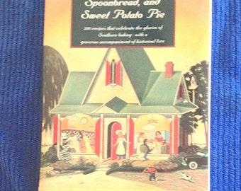 "Vintage Bill Neal cookbook, ""Biscuits, Spoonbread & Sweet Potato Pie,"" 1st ed. hard back, dust jacket, classic, Crook's Corner, Chapel Hill"