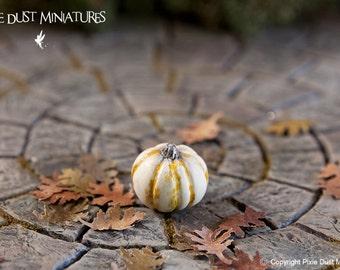 Tiny White Pumpkin - HALLOWEEN RANGE