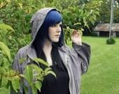 FINAL SALE Long Black wig. Straight Blue Scene Emo wig. Cosplay wig - Winter Wolf