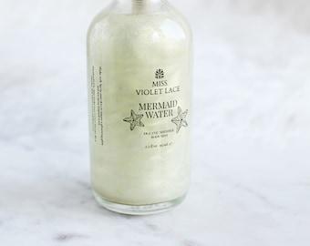 Mermaid Water Shimmer Mist | Spirulina Infused Shimmer | 100% natural and vegan | Oceanic Shimmer Body Mist