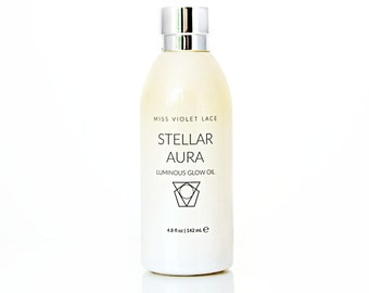 50% OFF Luxe Body Oil | Subtle Shimmer Body Oil | Natural + vegan