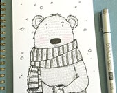 ORIGINAL Bear Inktober 8