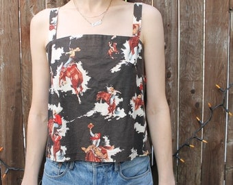 Vintage South West Rodeo Tank