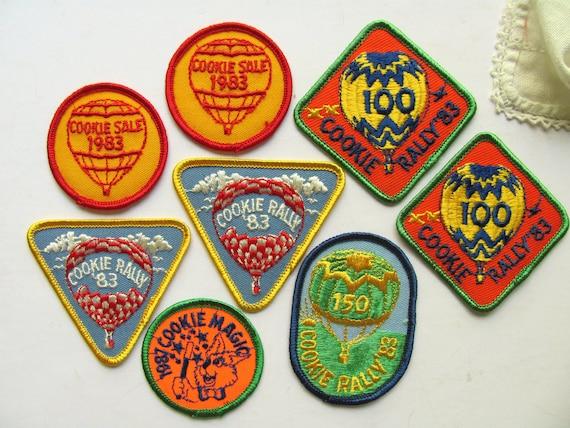 Girl scout badges vintage