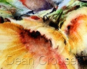 CHICKADEE & SUNFLOWER Watercolor Greeting Cards by Dean Crouser