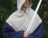 Medieval Hood Cotton with Liripipe