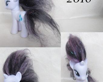Custom Rehaired Puff My Little Pony G4 FiM Friendship is Magic Rarity Unicorn
