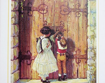 Through the Gate 1971 My Book House Volume 4 Four - Olive Beaupre Miller - Classic Literature - Folklore Imaginative Tales Stories For Kids