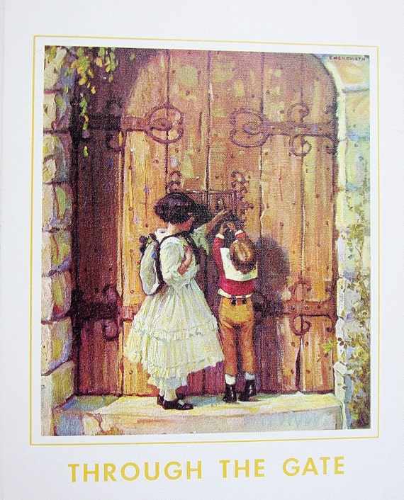Through the gate 1971 my book house volume 4 four olive for Classic house volume 1