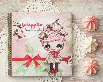 Whippita - notebook - made to order