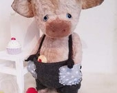 PDF Sewing Pattern For 7,8 Inch Piggy