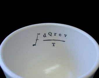 Entropy Porcelain Soup Mug