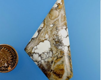 Wild Horse Cappuccino Magnesite Cabochon from 49erMinerals