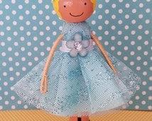 Clothespin Doll Tutorial- Color Pictures and Detailed Instructions for Assembly- You Can Make Your Own!