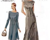 Vogue 7749 Sewing Pattern for Misses' Dress - Uncut - Size 18, 20, 22 - Bust 40, 42, 44