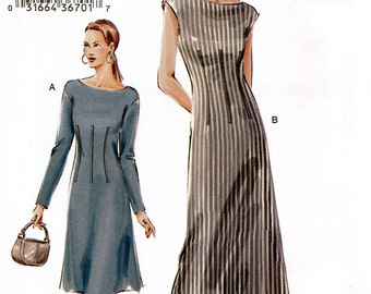 Vogue 7749 Sewing Pattern for Misses' Dress - Uncut - Size 18, 20, 22 - Bust 40, 42, 44