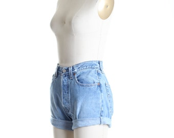 ALL SIZES Cut Off Rolled Up  LEVI'S Vintage Shorts