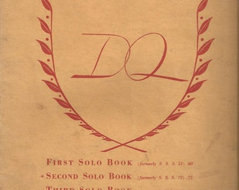 Diller-Quaile First, Second, Third, Fourth Solo Book, 1946