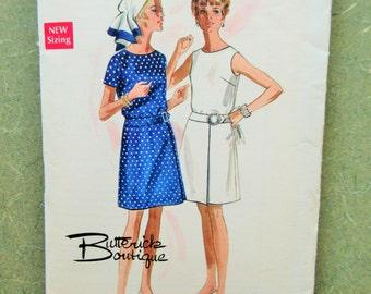 Vintage Butterick 5176 Sewing Pattern, Mod Dress Pattern, 1960s Dress Pattern, 1960s Sewing Pattern, Bust 36, A-Line Dress, Vintage Sewing