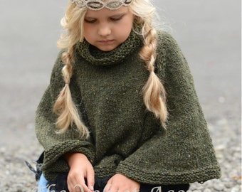 Knitting Pattern - Azel Pullover (2, 3/4, 5/7, 8/10, 11/13, 14/16, adult S/M,...