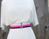 Sale - Pink ombre elastic...