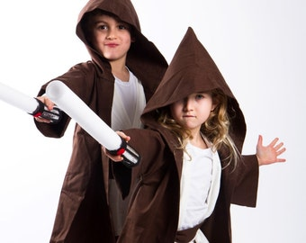 Jedi Costume Star Wars Toddlers Jedi costumes 6PC boys toddler costume Ready to ship Halloween costumes for kids.