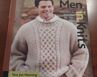 Book - MEN in Knits - Sweaters to Knit that HE WILL Wear