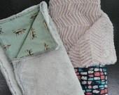 Custom lap/toddler blankets for Kirsten