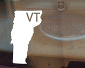 Vermont Car Decal, State Decal, Vermont Decal, Laptop Decal, Laptop Sticker, Car Sticker, Car Decal, Vinyl Decal, VT, Window Decal, Home