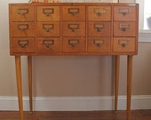 File Away.... Antique Globe Library Card Catalog File, Library File, Card Catalogue, Card File, Dewey Decimal