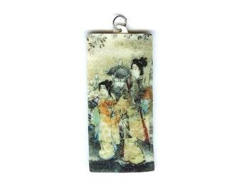 Japanese Women Pendant