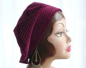 Raspberry Beret ~ Velvet