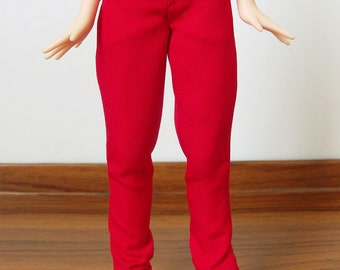 Red rolled-up pants for Azone Pure Neemo M