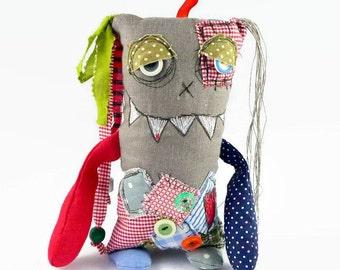 Monster Doll - Halloween Gift - Personalized Fantasy Doll - Gift for Boyfriend - Housewarming Gift for Men