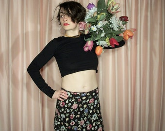 Floral Mini Skirt, My Michelle 90s
