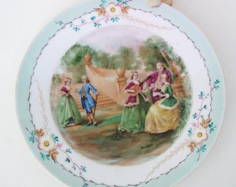 Antique Cabinet Plate | Sevres Porcelain | Wall Plate | French Porcelain | Decorative Plate | Hand Painted Plate
