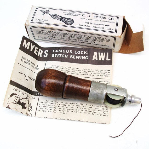 ca myers awl instructions