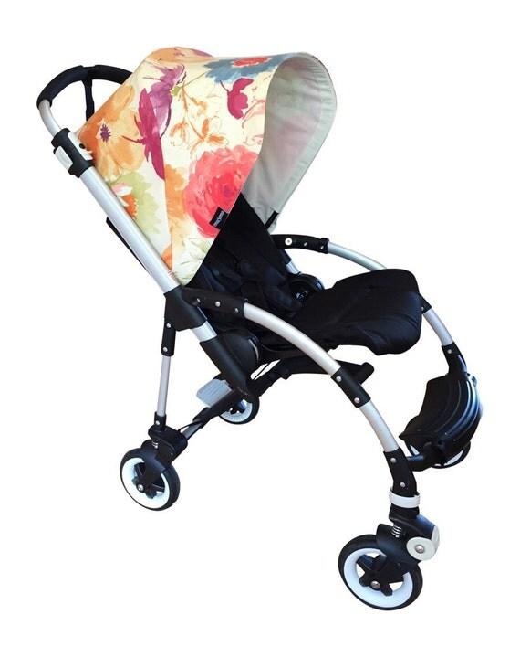 bugaboo hood custom emasema painterly2 sun canopy. Black Bedroom Furniture Sets. Home Design Ideas