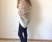Crochet Sweater Pattern, Cocoon Shrug Pattern, The Alaska Shrug Crochet Pattern, Instant PDF Cownload