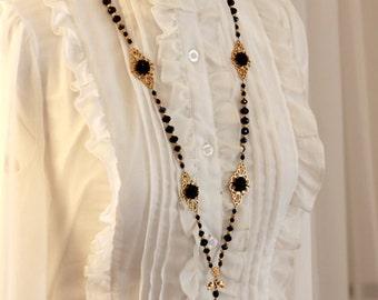 Black Fairy Necklace