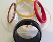 Vintage Bangle Bracelet Collection OF 5