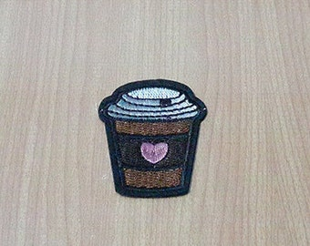 Coffee Cup Patch Drink Patches Iron On Patch