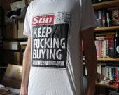 Keep F'cking Buying Screenprinted T-shirt