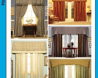 Simplicity Pattern 4098 Home Decor - Valances & Panels NEW