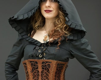 Moriarty Cropped Jacket- Goth, Victorian, Steampunk