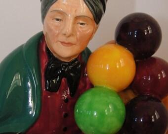 Royal Doulton The Old Balloon Seller HN 1315 1920s - 1930s